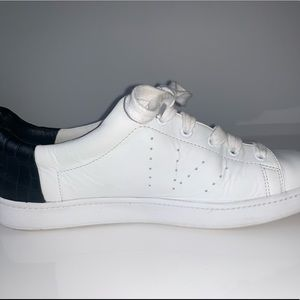 Vince White Leather Sneaker